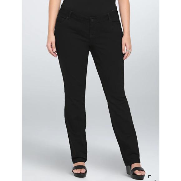 Torrid Barley Boot Black Wash Jeans 16